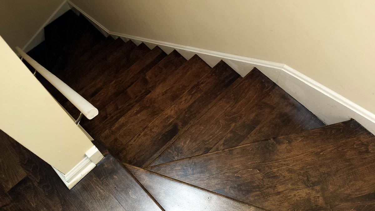 Purchased A 4 Room Apartment That Required Serious Resurfacing And Refinishing Of The Maple Hardwood Floors Got Number Quoteidwest Was